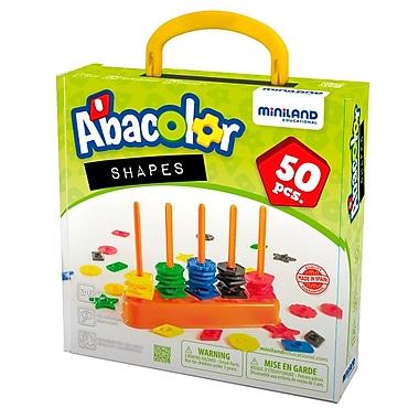 Miniland Educational Abacolor Shapes, Multicolor (45310)