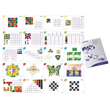 Miniland Educational Cubes Math Activity Pack, Multicolor (95204)