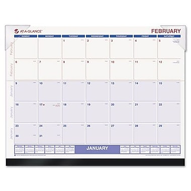 At-A-Glance SKLKFW32 Look Forward Recycled Desk Pad 22