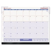 """At-A-Glance SKLKFW32 Look Forward Recycled Desk Pad 22"""" x 17"""" (AZERTY1226)"""