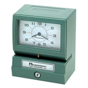 Acroprint Time Recorder Model 150 Heavy Duty Analog Automatic Print Time Clock (AZERTY16428) by