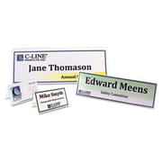 C-Line  Scored Tent Cards  White Cardstock  2 x 3.5  4-sheet  40 sheets-BX (AZERTY2374)