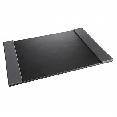 Artistic 24 x 14 Monticello Desk Pad With Fold-Out Sides, Black (AZTY01259)