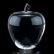 """Badash Su316 Crystal Apple  3.5 H"""" (BDCR638)"""
