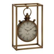Benzara  Fabulous and Unique Metal Table Clock (BNZ10556)