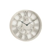 Benzara  Aluminum Wall Clock - 18 in. D (BNZ13469)
