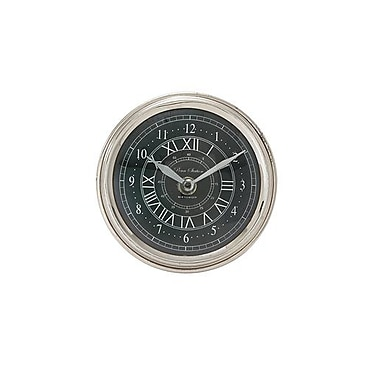 Benzara Well-Crafted Metal Table Clock - 5 in. W (BNZ13479)
