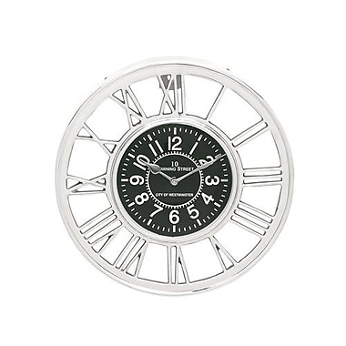 Benzara Aluminum Wall Clock - 14 in. D (BNZ13488)