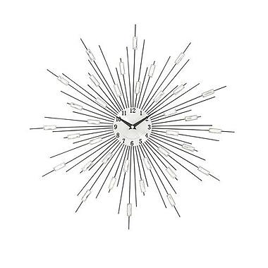 Benzara Wonderful Metal Acrylic Wall Clock (BNZ14028)