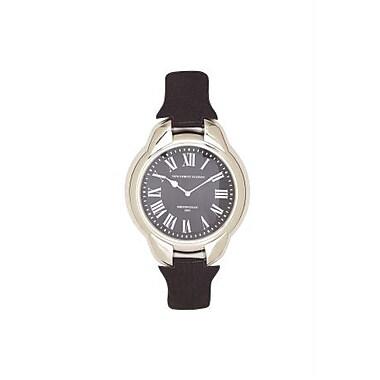 Benzara Shiny Finish Classy Stainless Steel Wall Clock (BNZ9052)
