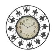 Benzara  Decorative Metal Outdoor Wall Clock (BNZ9104)