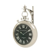 Benzara  Splendid Steel Wall Clock (BNZ9506)