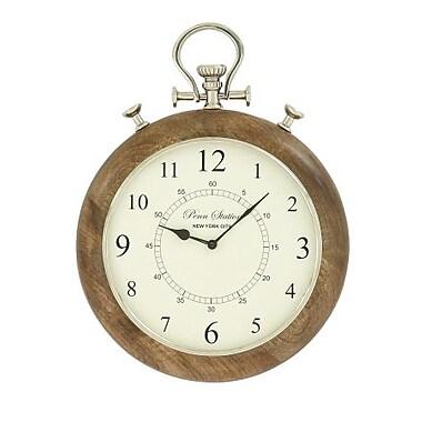 Benzara Era Wood Metal Wall Clock (BNZ9507)