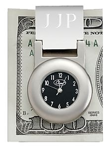 Chass 80397 Financier Money Clip Clock (CHAS045)