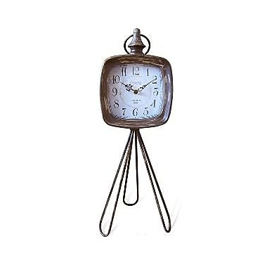 Cheungs Rustic Clock on Tripod (CNGR1095)