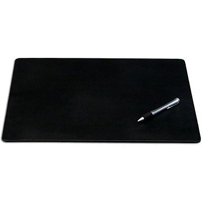 Dacasso Limited Black Leatherette 38 in. x 24 in. Desk Pad without Rails (DCSS362)