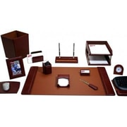 Dacasso  Leather Desk Set - Mocha (DCSS489)