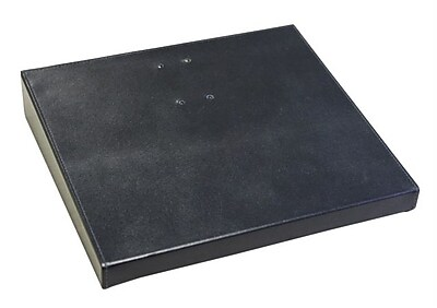 """""""""""Dacasso Limited A1079 Classicblack Leather 4.5"""""""""""""""" x 8"""""""""""""""" Calendar Holder Base (DCSS720)"""""""""""" 2395257"""