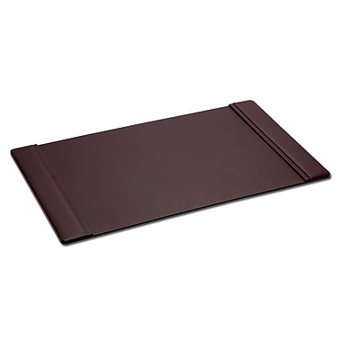 Dacasso Limited Chocolate Brown Leather 34 x 20 Side Rail Desk Pad (DCSS852)