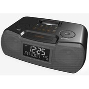 Sangean America  AM FM Atomic Clock Radio Dock (DHRCR10BLACK)