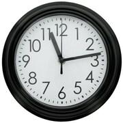 DDI  9.8 in. Round Wall Clock with Black Rim Case Of 4 (DLRDY271388)
