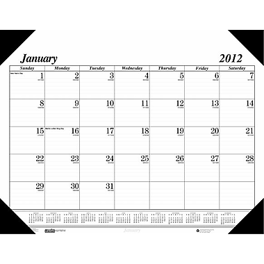 House of Doolittle Economy Compact Desk Calendar (HSODL001)