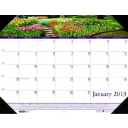 House of Doolittle HOD1746 Compact Gardens Desk Pad  (HSODL042)