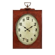 IMAX Corporation  Carnen Oversized Red Wall Clock (IMAX6615)