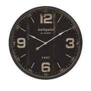 Imax Robertson Black Wall Clock (IMAX7539) by