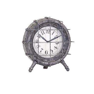 Imax Ella Elaine Metal Table Clock (IMAX7604)