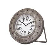 Imax Mabrey Galvanized Desk Clock (IMAX8688) by
