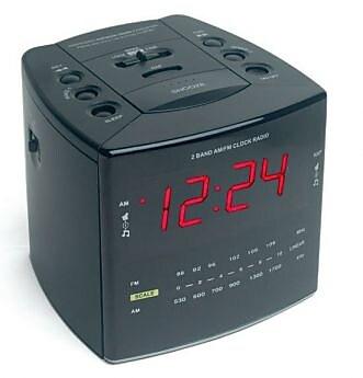 KJB Security Products Digital Transmitter Alarm Clock (KJB731) 2394574