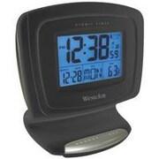 Westclox Clock Alarm Lcd Digital Atomic 72036 (ORGL65659)