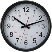 Timekeeper  14 in. 24-Hour Wall Clock (PETRA13326)