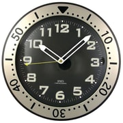 Timekeeper 12 in. Round Chronograph Design Wall Clock (PETRA13327)