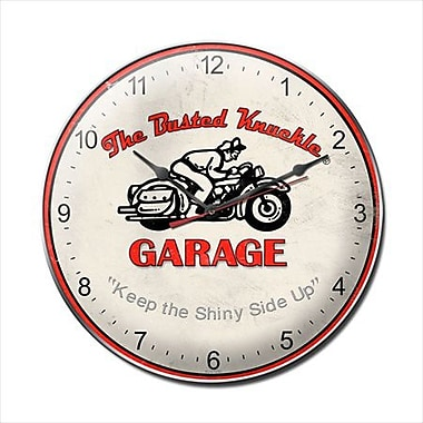 Past Time Signs Vintage Motorcycle Clock (PSTMS251)