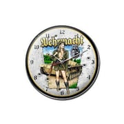 Past Time Signs  Wehrmacht Axis Military Clock (PSTMS3918)