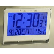 Atomic Clock with 2'' Number & Light (RTL104417)