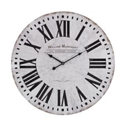 Elk Lighting  Aged White Wall Clock (RTL175562)
