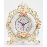 Maple's Clock  Floral Table Clock (RTL18C127)