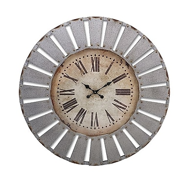 Imax Dees Iron Clock (RTL344549)