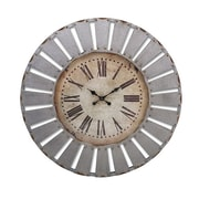 Imax Dees Iron Clock (RTL344549) by