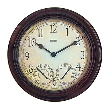 Springfield 14 in. Clock with Thermometer (RWRDPS2543)