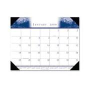 "House of Doolittle HOD140HD Desk Pad-""Illustratedin.- Refillable- 12 Months- Jan-Dec- 22in.x17in. (SPRCH14194)"