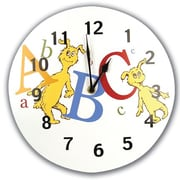 Trend Lab  Circular Wall Clock- Dr. Seuss Abc (TREND1667)