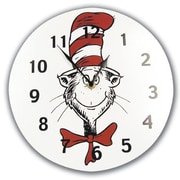 Trend Lab  Circular Wall Clock- Dr. Seuss Cat In The Hat (TREND1668)