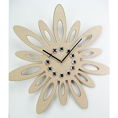 World Friendly World Sunset Swoons- Hand Made Laser Cut Wood Clock (WRFW006)