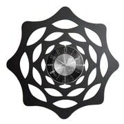 World Friendly World  Houzz Mid-Century Modern Black Sunset Swoon Clock, Black (WRFW075)