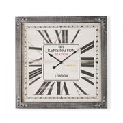 Yosemite Home Decor  Square MDF Wall Clock - Black, 2.5 x 23.75 x 23.75 in. (YSMT95262)