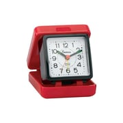 Impecca  Travel Beep Alarm Clock Red - Black (ZRSS2659)